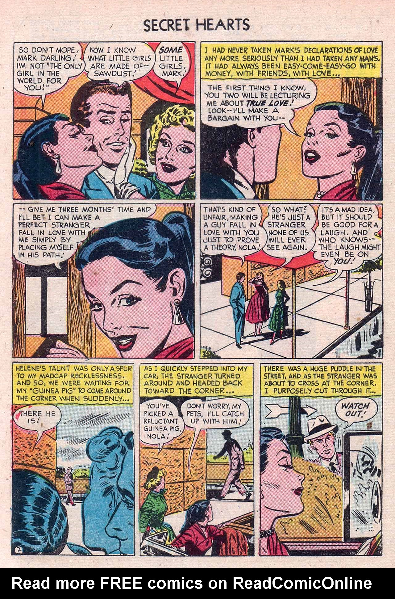 Read online Secret Hearts comic -  Issue #12 - 4