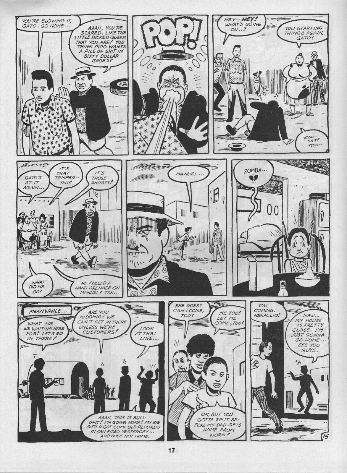 Love and Rockets (1982) Issue #3 #2 - English 19