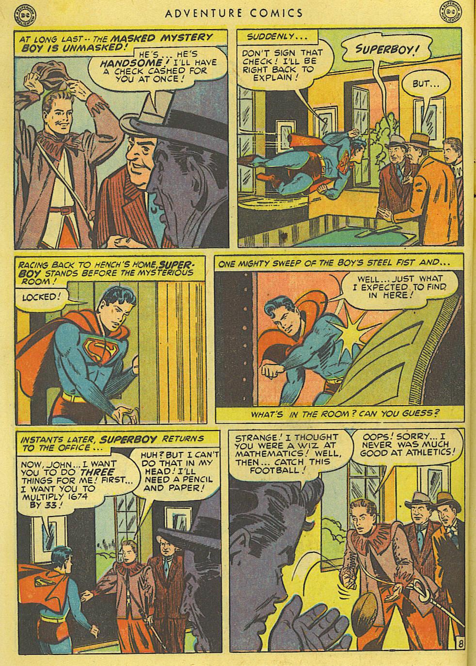 Read online Adventure Comics (1938) comic -  Issue #135 - 10