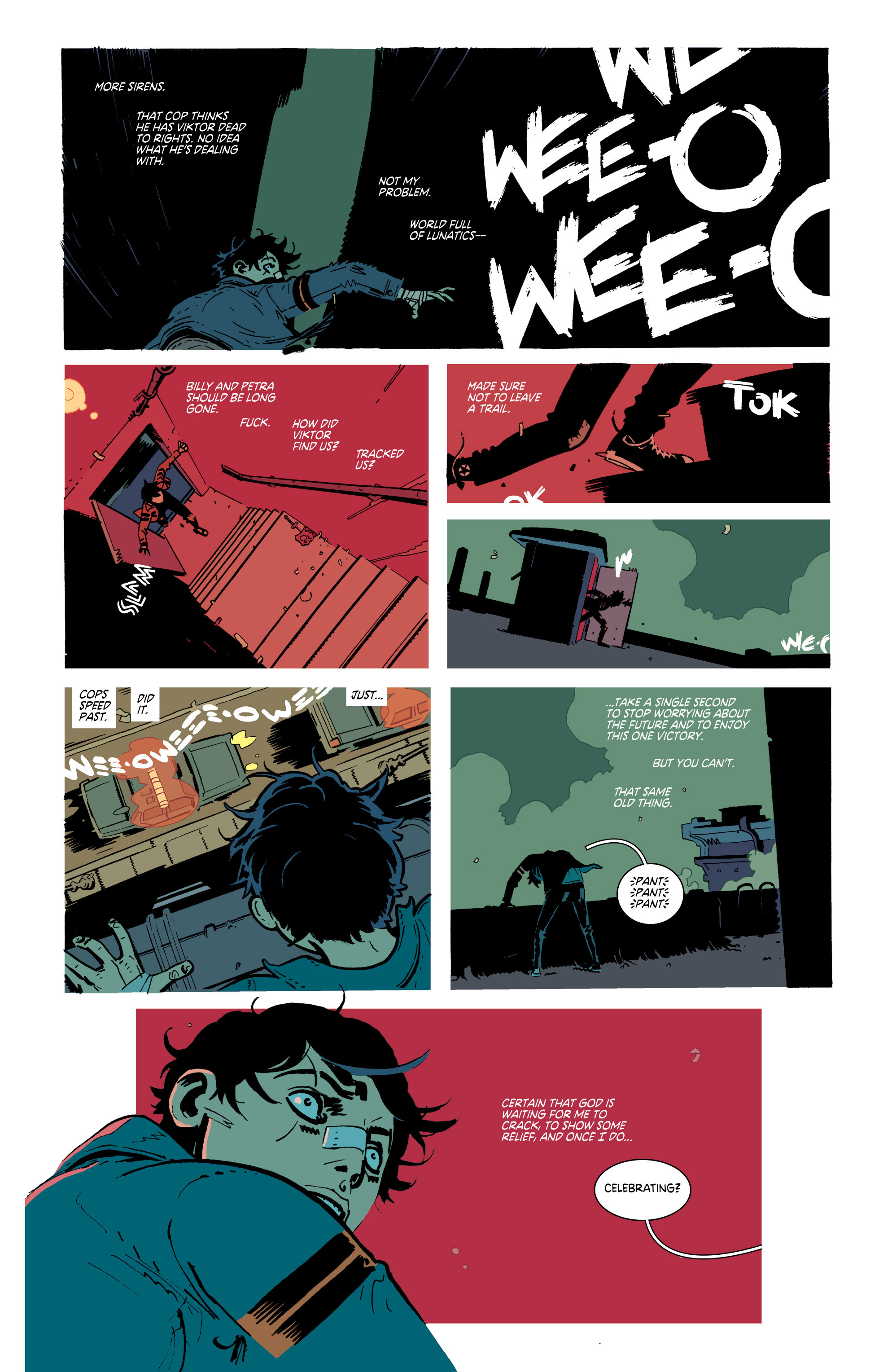Read online Deadly Class comic -  Issue #20 - 23