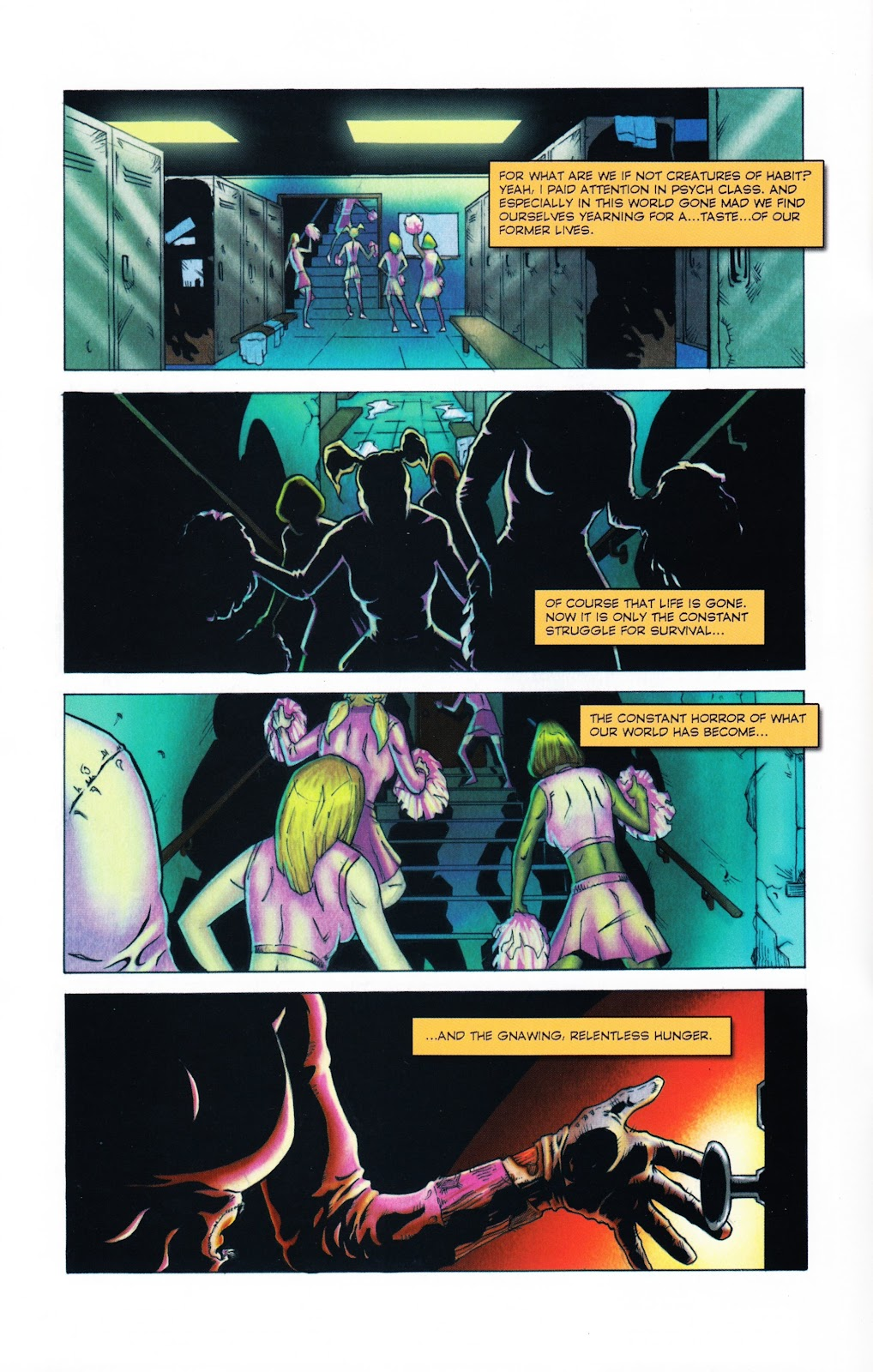 Zombies vs Cheerleaders Issue #2 Page 5