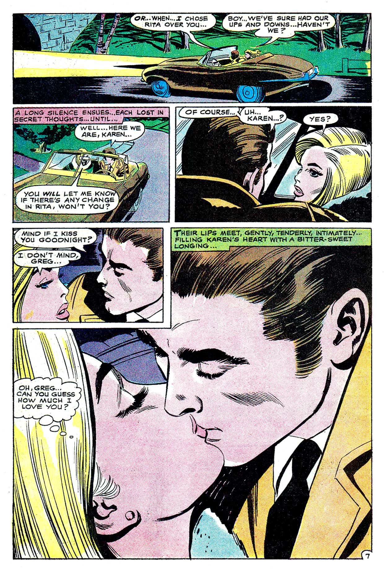 Read online Secret Hearts comic -  Issue #135 - 26