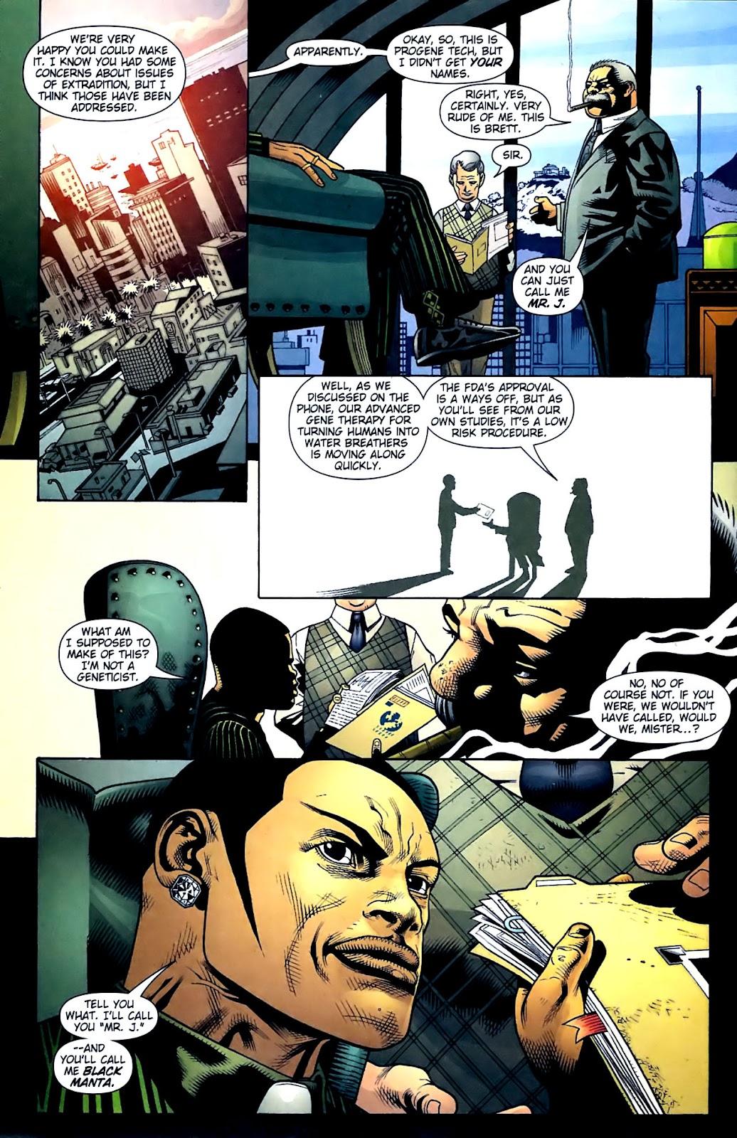 Aquaman (2003) Issue #32 #32 - English 17