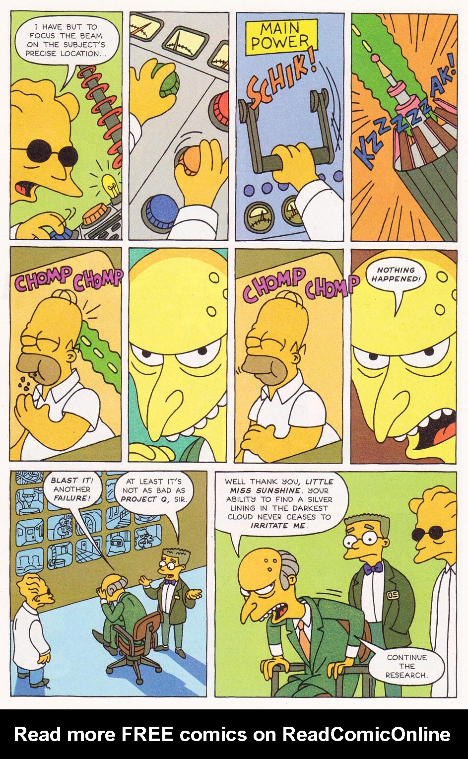 Read online Simpsons Comics comic -  Issue #1 - 9