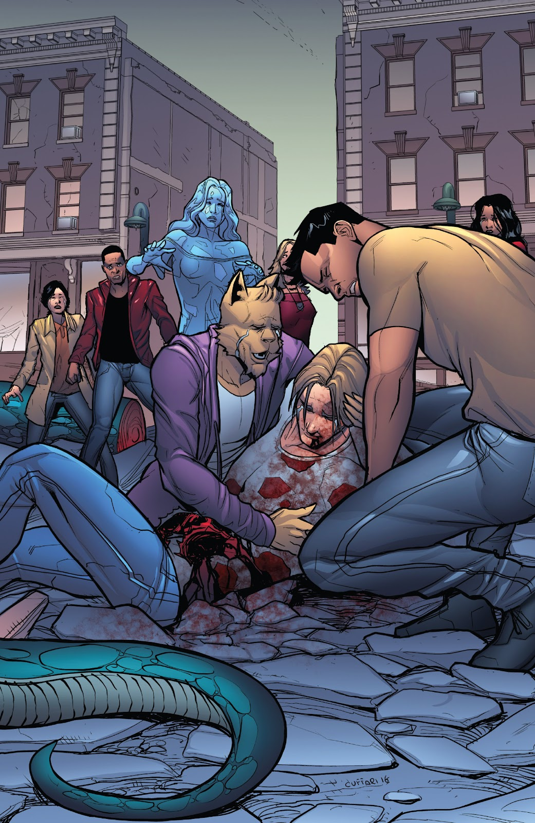 Grimm Fairy Tales (2005) Issue #124 #127 - English 19
