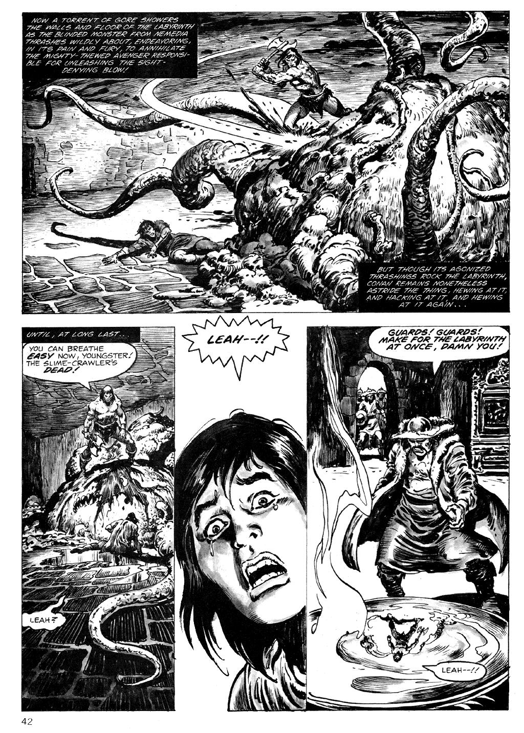 The Savage Sword Of Conan Issue #71 #72 - English 42