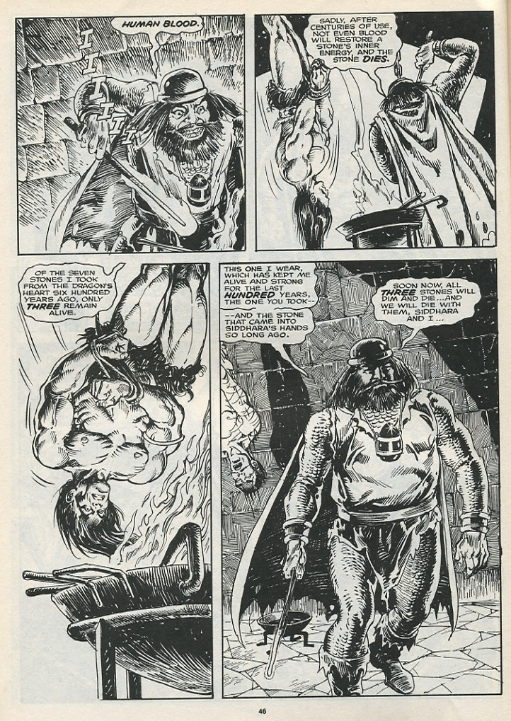 The Savage Sword Of Conan Issue #174 #175 - English 48
