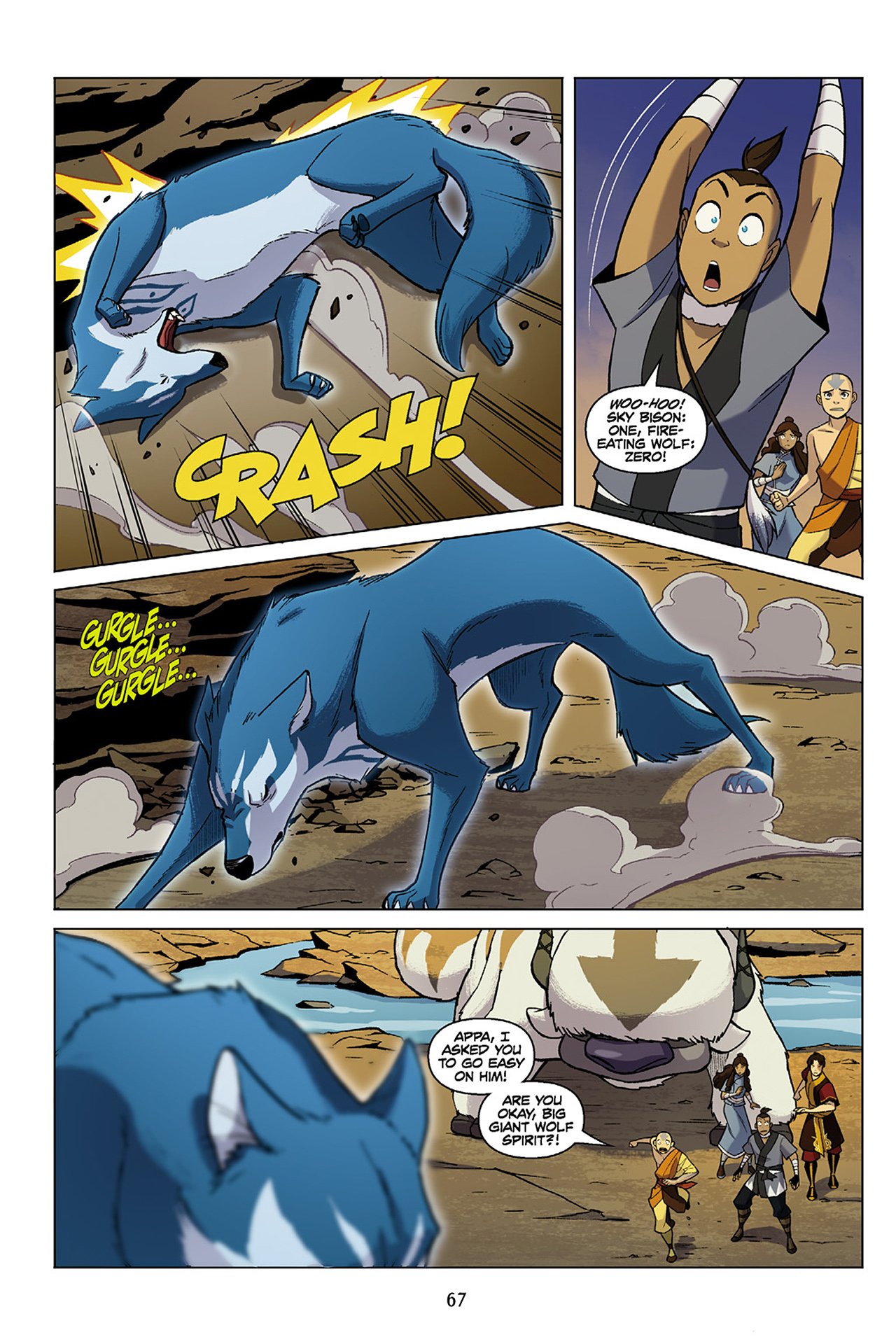 Read online Nickelodeon Avatar: The Last Airbender - The Search comic -  Issue # Part 1 - 68