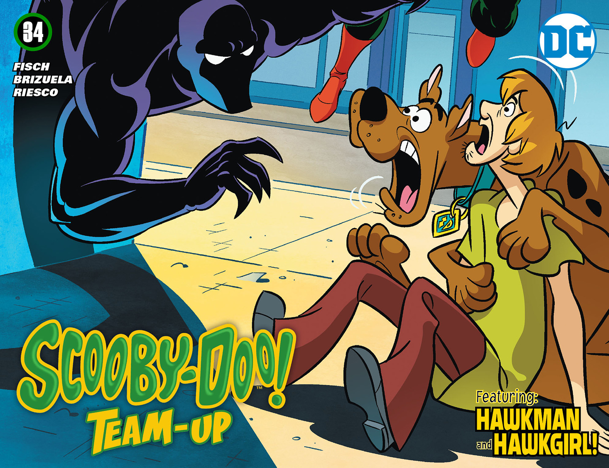 Read online Scooby-Doo! Team-Up comic -  Issue #34 - 1