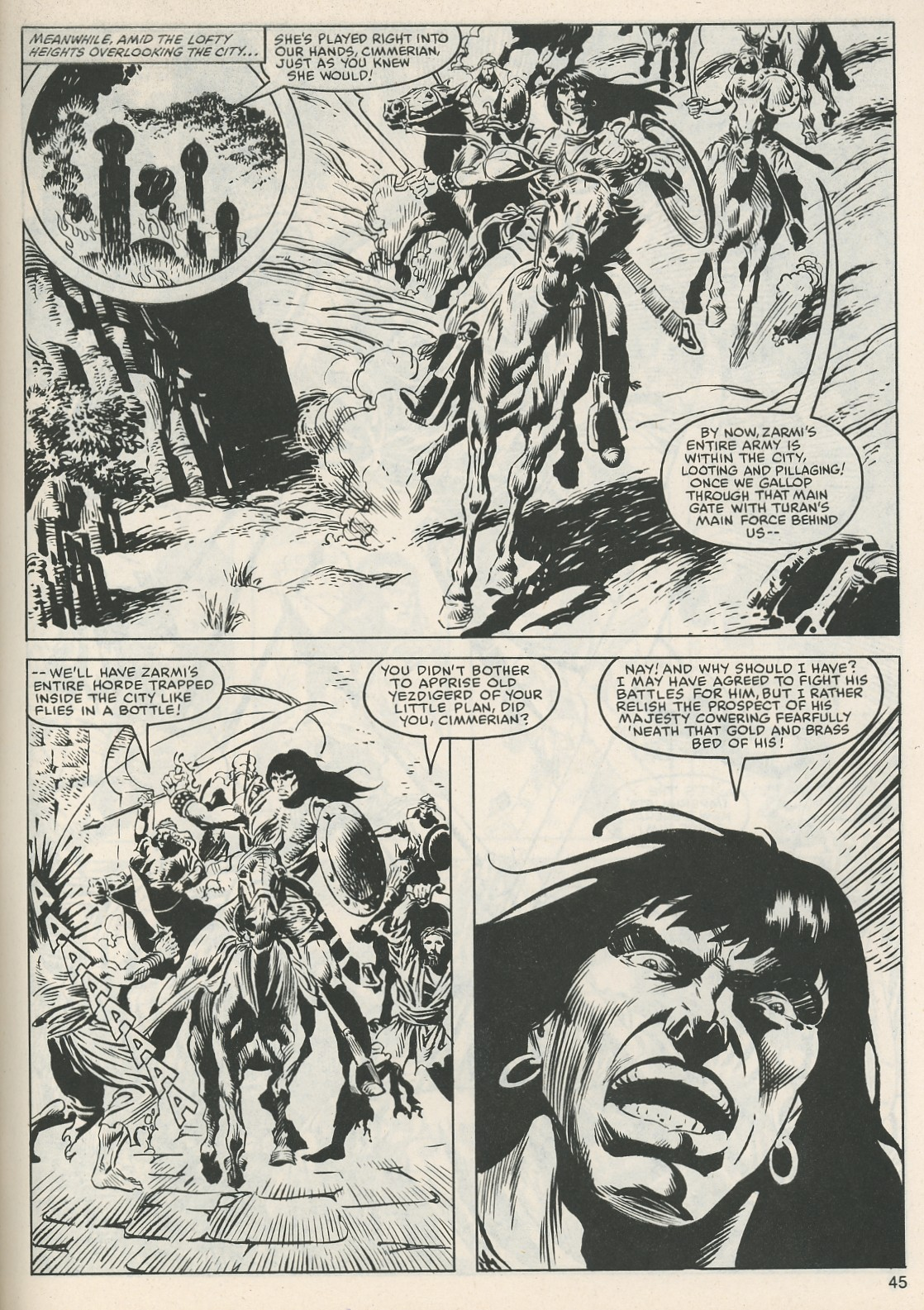 The Savage Sword Of Conan Issue #112 #113 - English 46