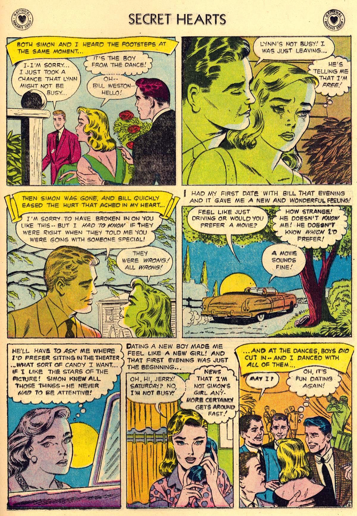Read online Secret Hearts comic -  Issue #43 - 21