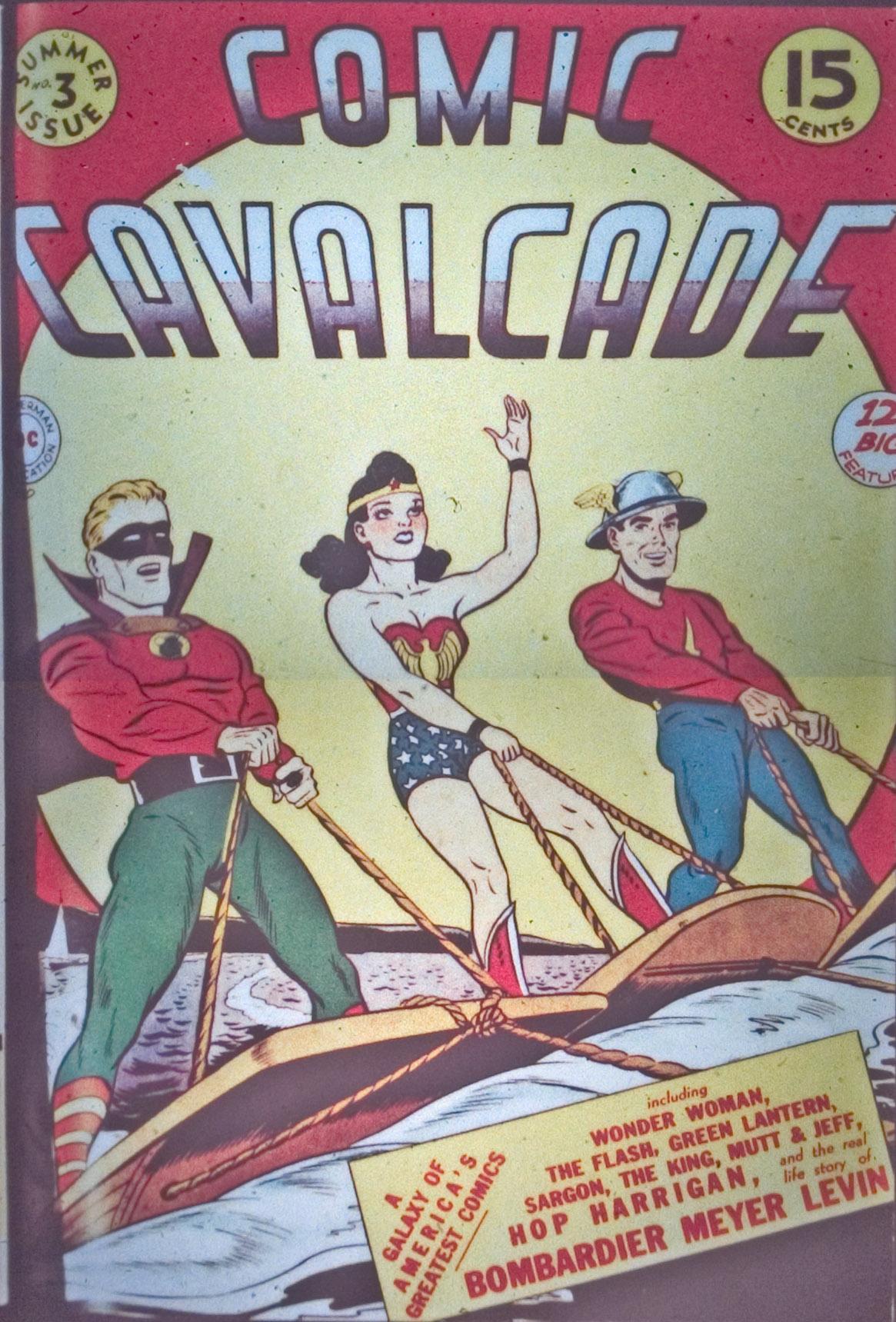 Comic Cavalcade 3 Page 1