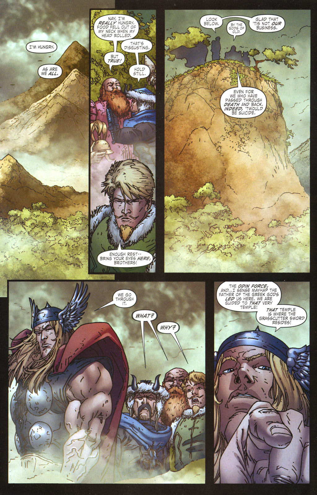 Read online Thor: Blood Oath comic -  Issue #5 - 15