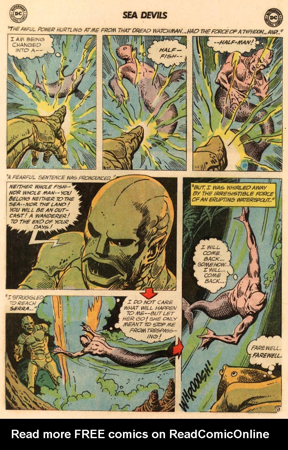 Read online Sea Devils comic -  Issue #8 - 14