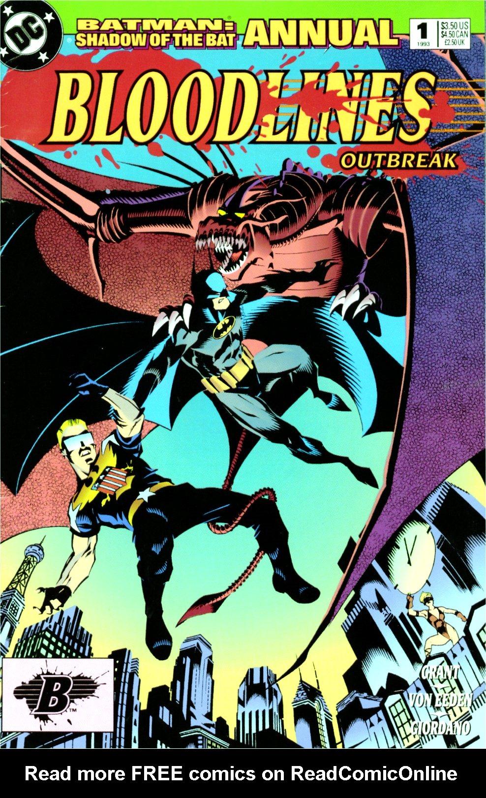 Batman: Shadow of the Bat _Annual_1 Page 1