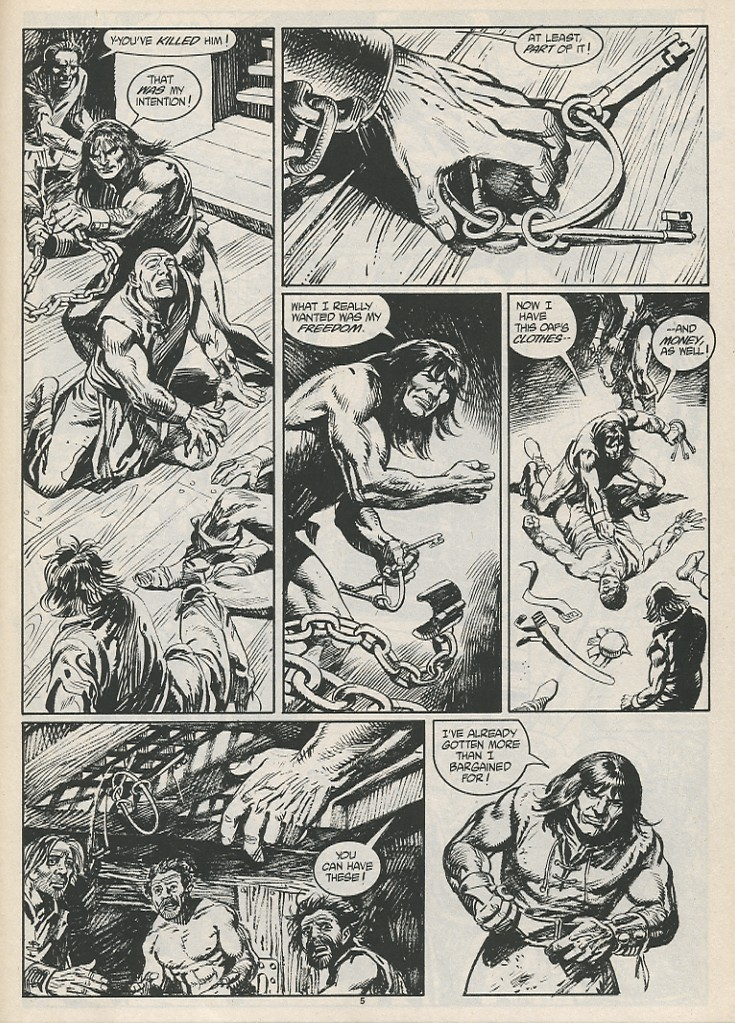 The Savage Sword Of Conan Issue #189 #190 - English 7