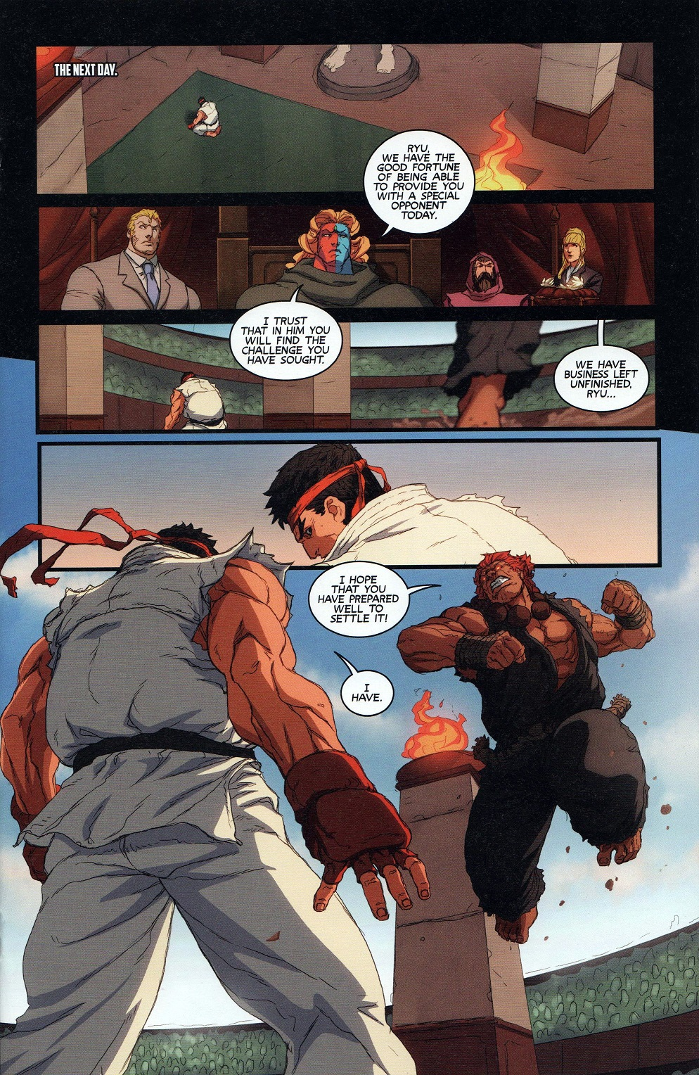 Street Fighter Unlimited Issue #9 #11 - English 17