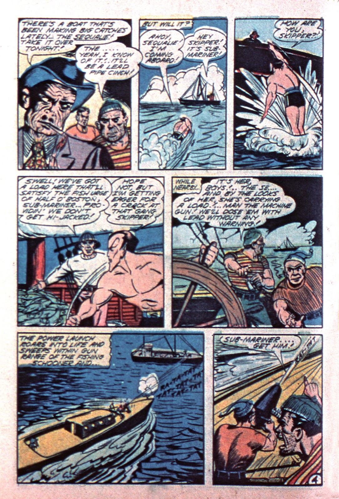Sub-Mariner Comics Issue #15 #15 - English 6