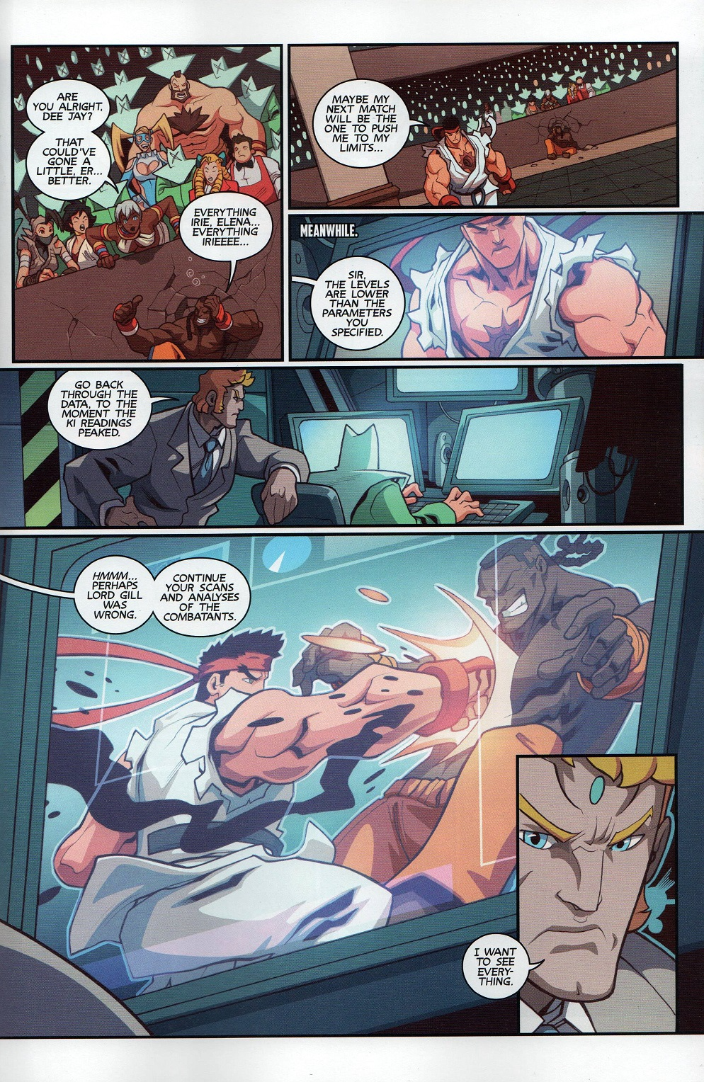 Street Fighter Unlimited Issue #8 #10 - English 9