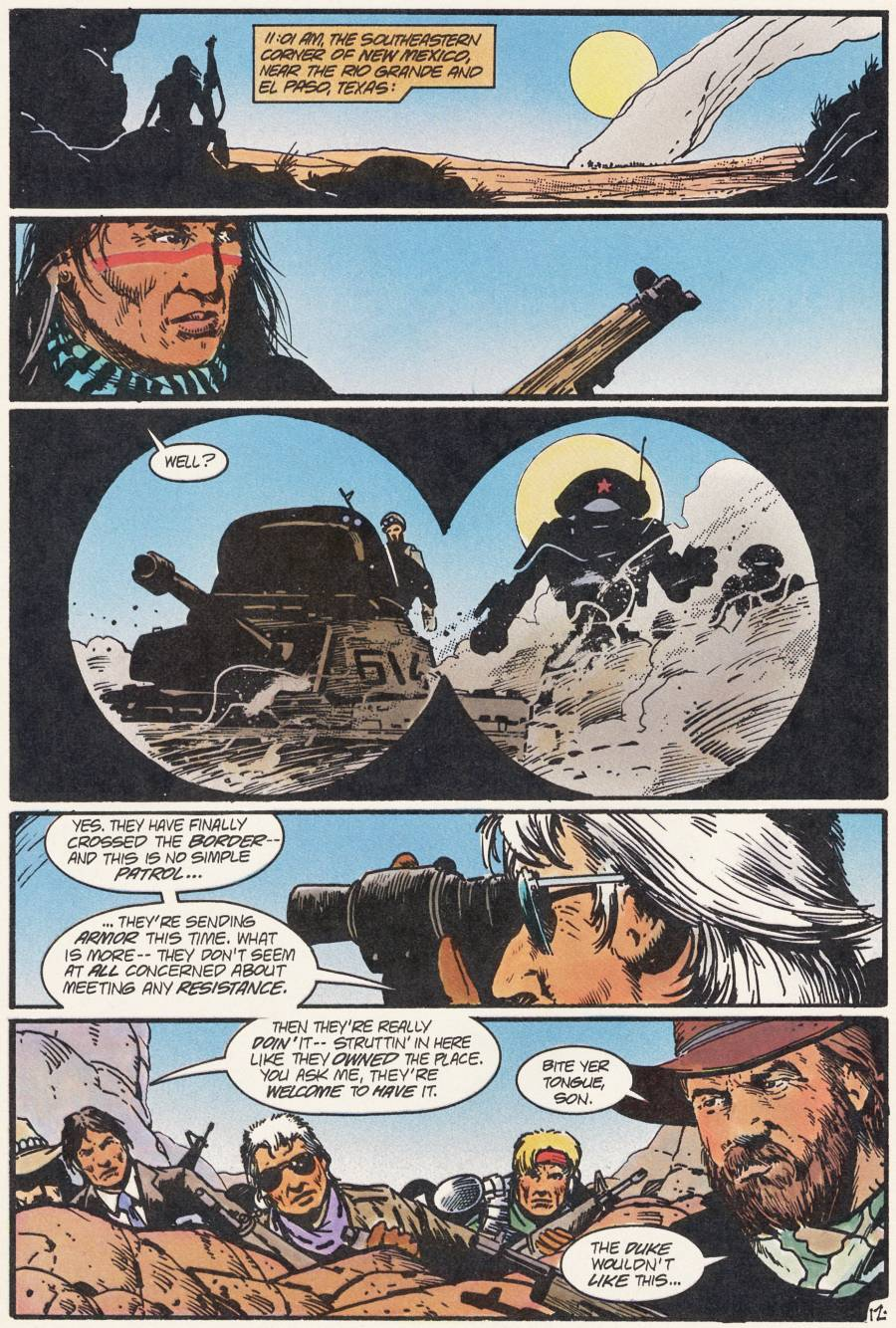 Read online Scout comic -  Issue #21 - 14