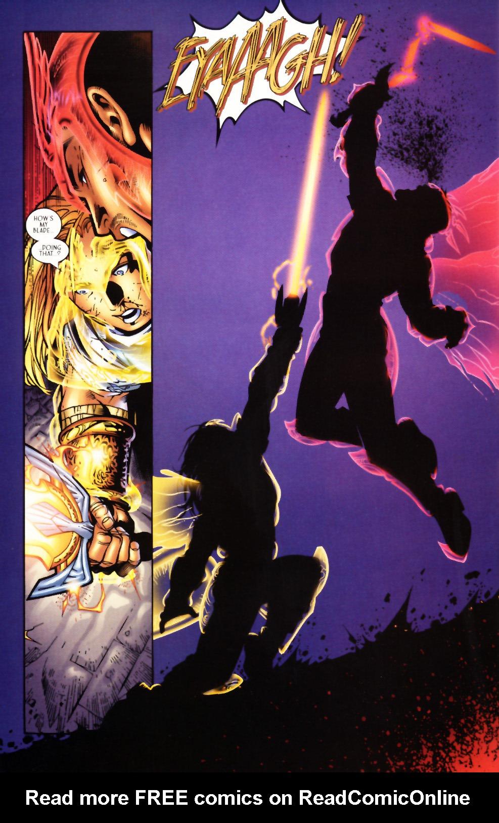 Read online Scion comic -  Issue #1 - 23