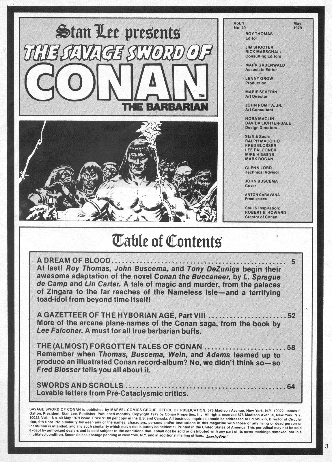The Savage Sword Of Conan Issue #40 #41 - English 3