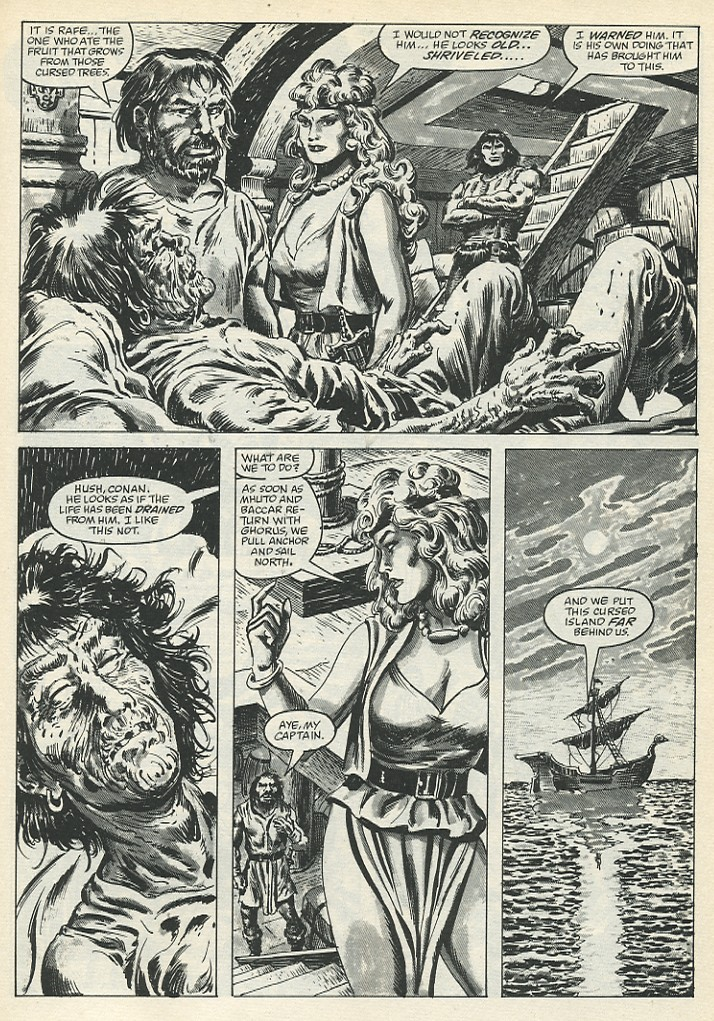 The Savage Sword Of Conan Issue #139 #140 - English 35