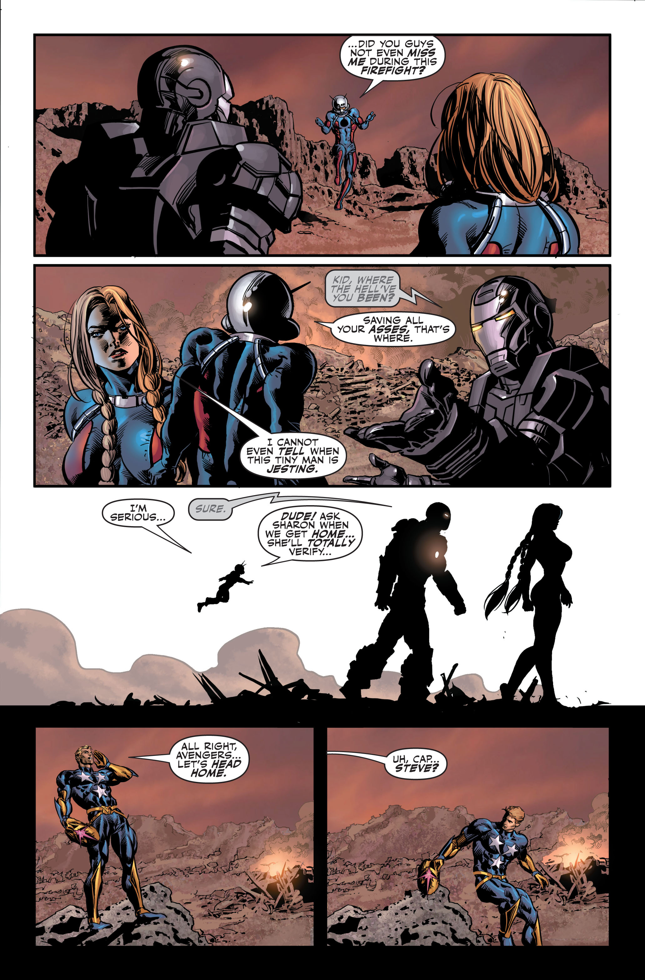 Read online Secret Avengers (2010) comic -  Issue #4 - 24