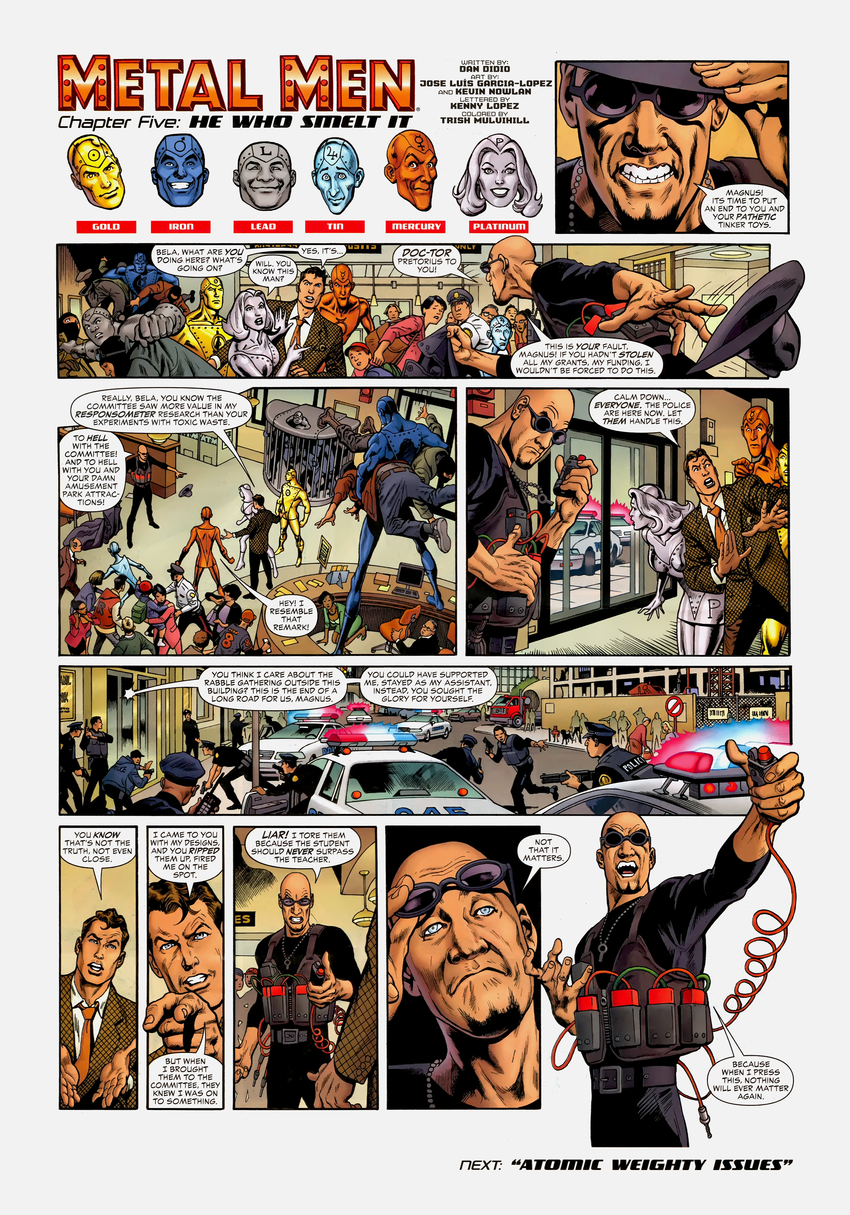 Read online Wednesday Comics comic -  Issue #5 - 11