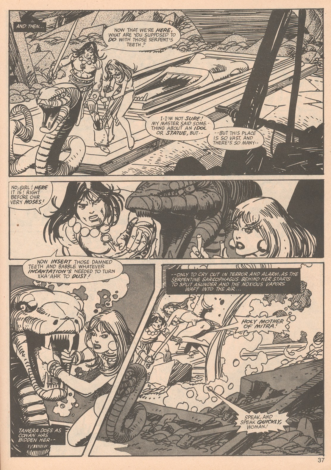 The Savage Sword Of Conan Issue #65 #66 - English 37