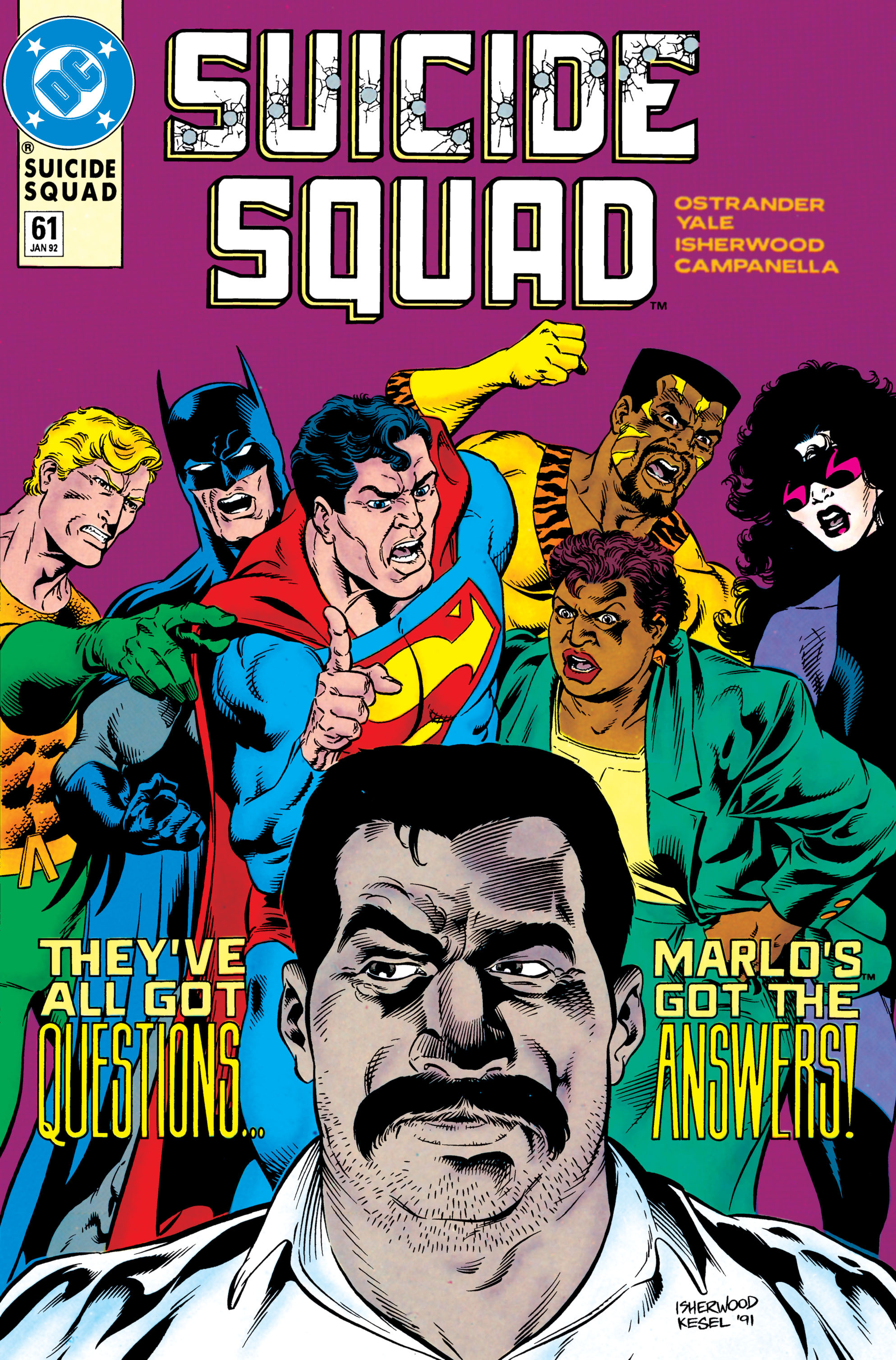 Suicide Squad (1987) issue 61 - Page 1