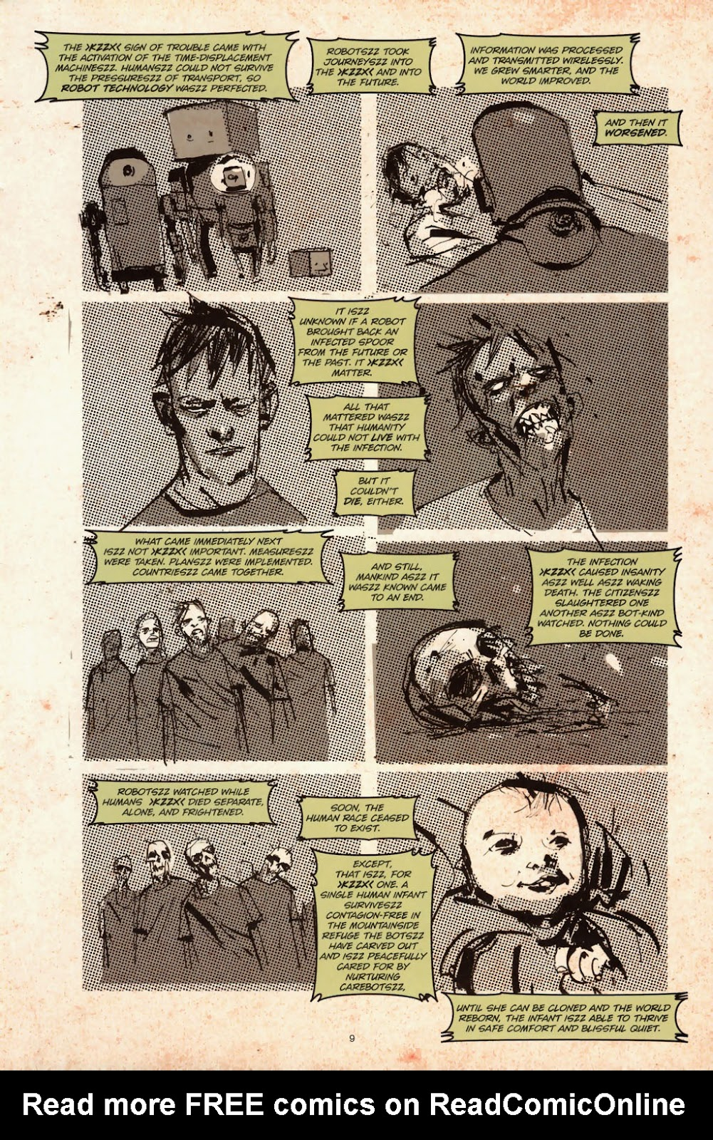 Zombies vs. Robots (2006) Issue #1 Page 11