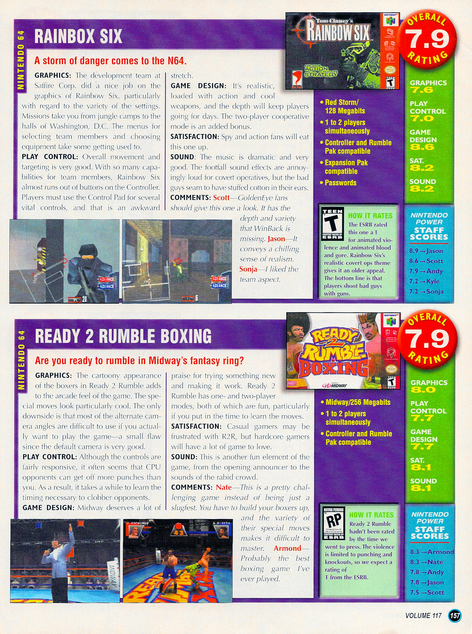 Nintendo Power #127 #127 - English 182