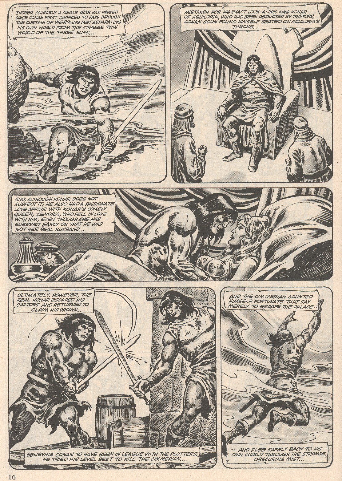 The Savage Sword Of Conan Issue #104 #105 - English 16