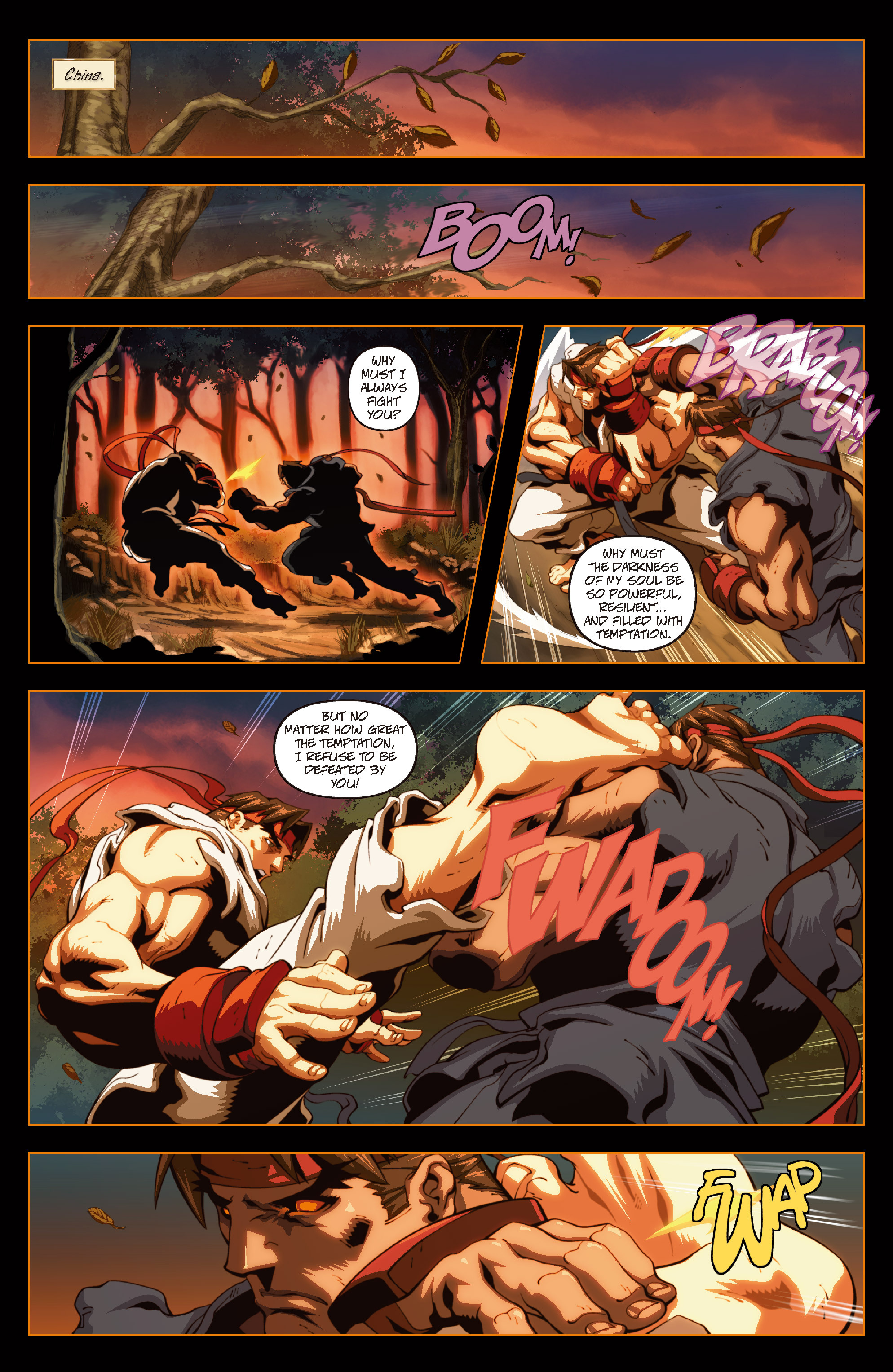 Street Fighter II chap 6 pic 17
