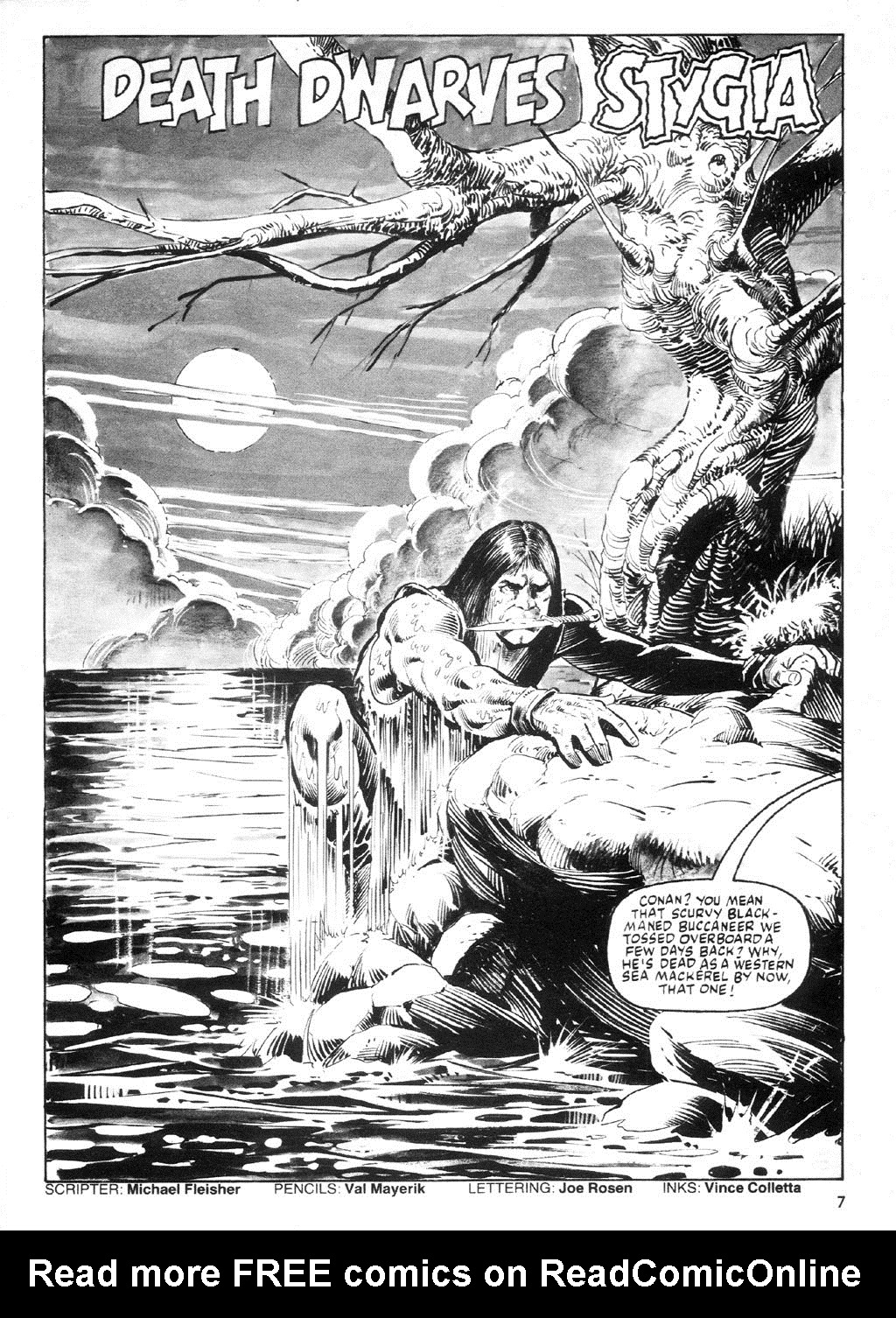 The Savage Sword Of Conan Issue #94 #95 - English 6