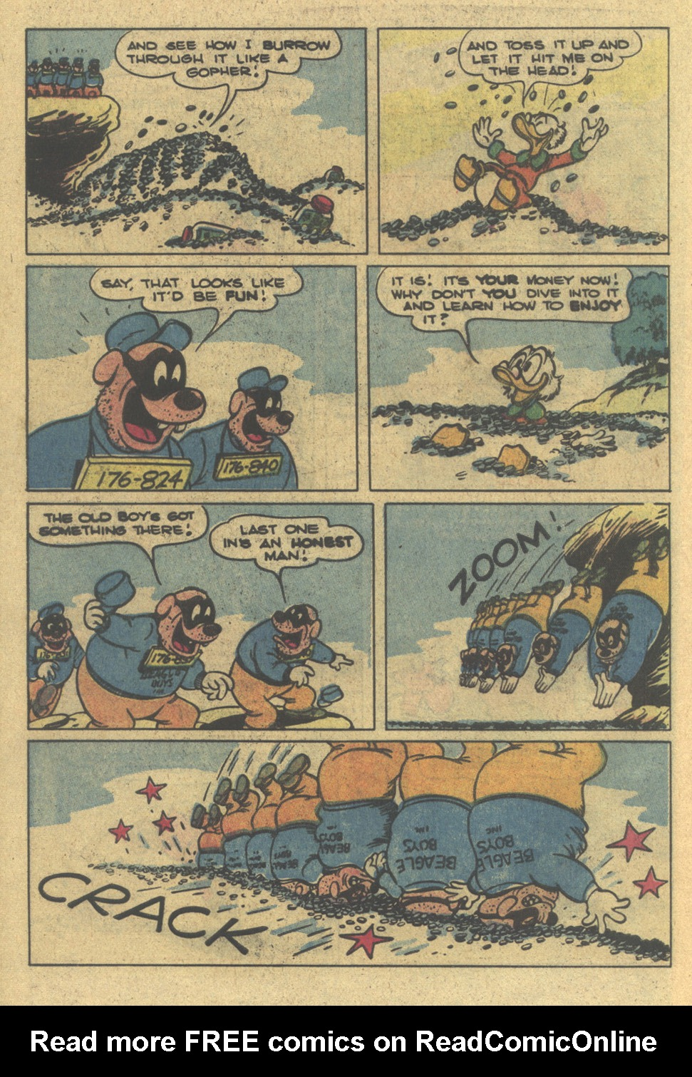 Uncle Scrooge (1953) Issue #195 #195 - English 32