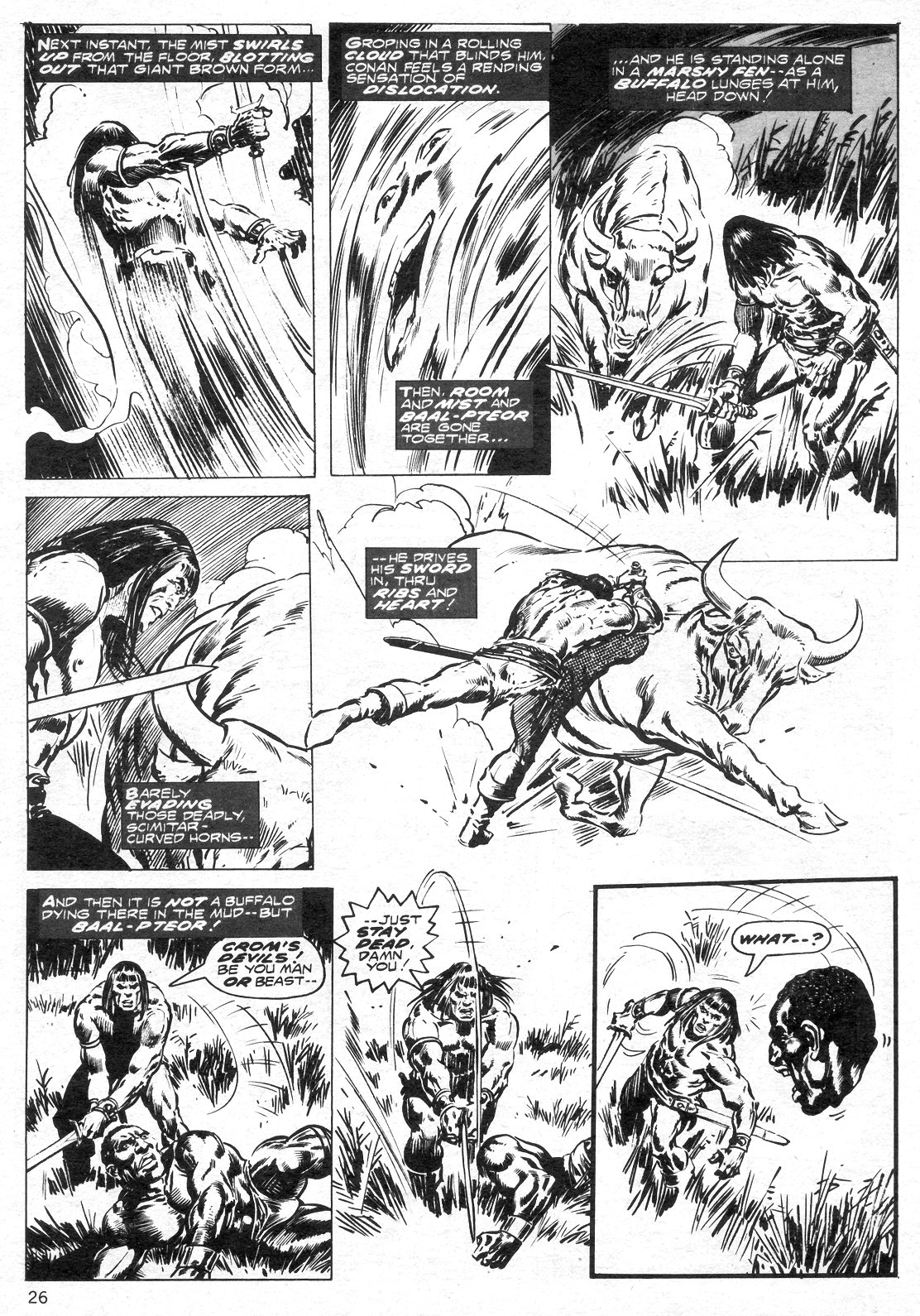 The Savage Sword Of Conan Issue #14 #15 - English 26