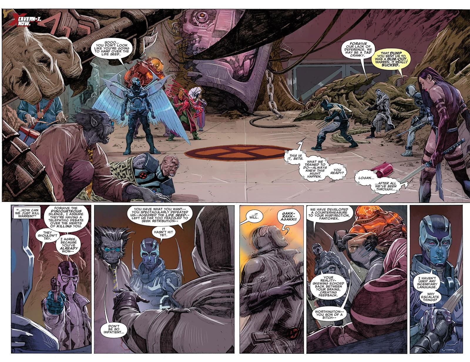 Uncanny X-Force (2010) Issue #14 #15 - English 7