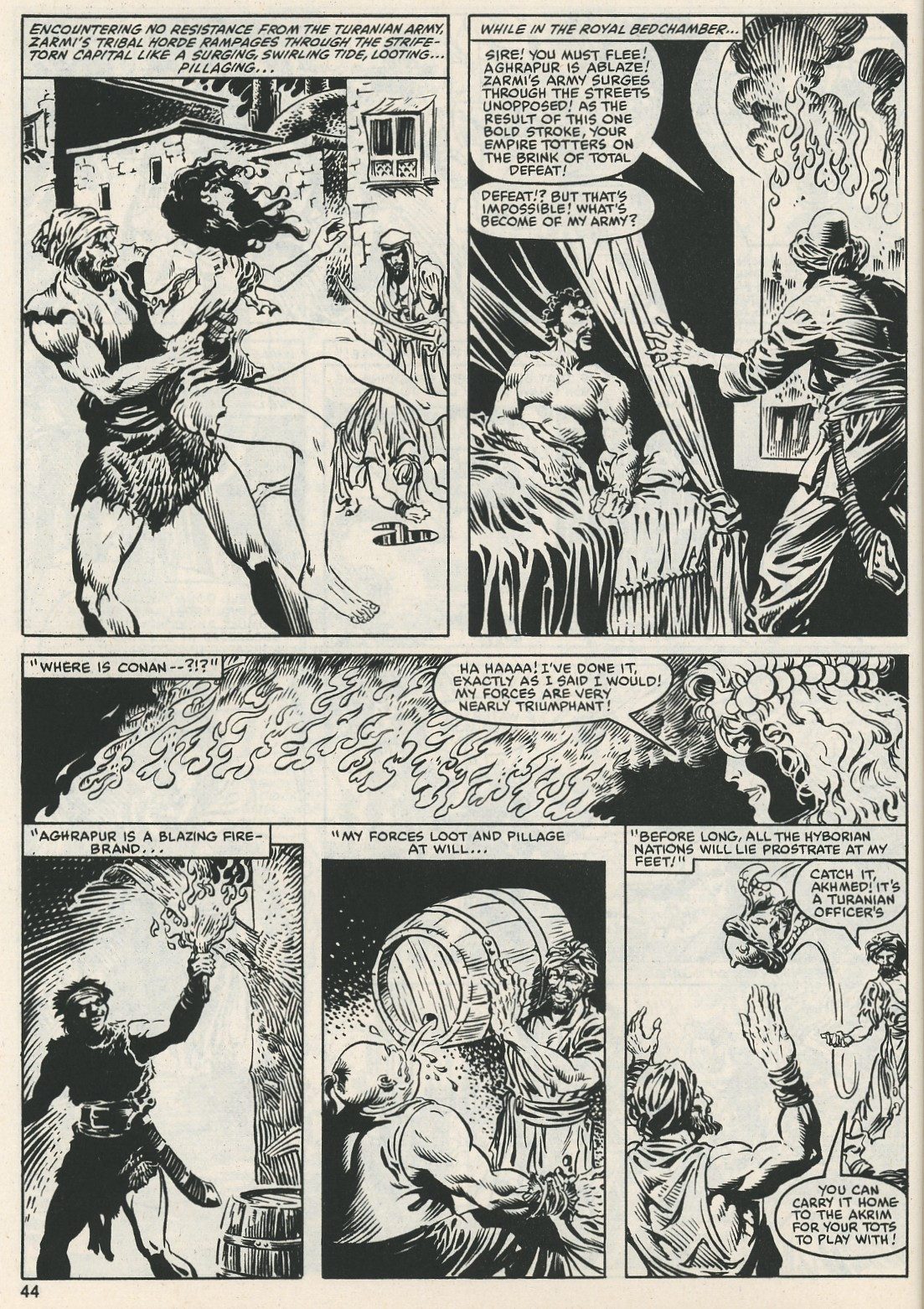 The Savage Sword Of Conan Issue #112 #113 - English 45