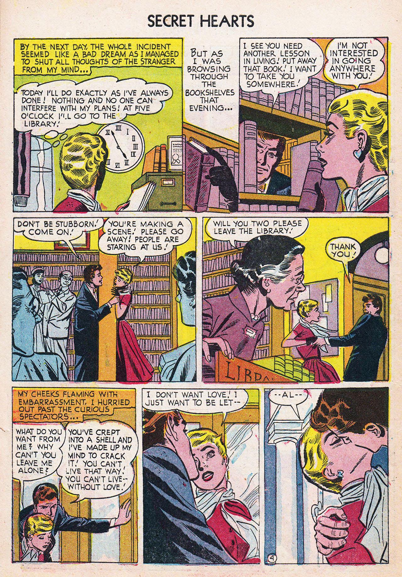 Read online Secret Hearts comic -  Issue #24 - 6