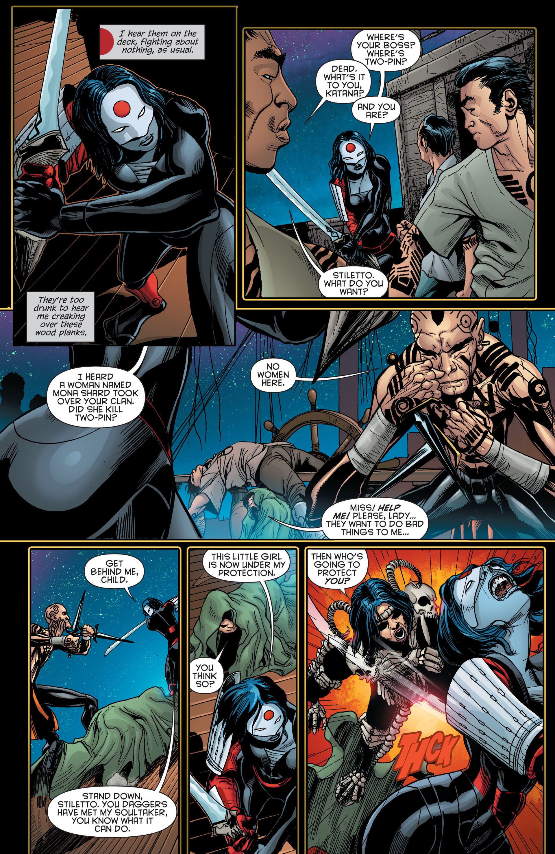 Read online Katana comic -  Issue #9 - 5