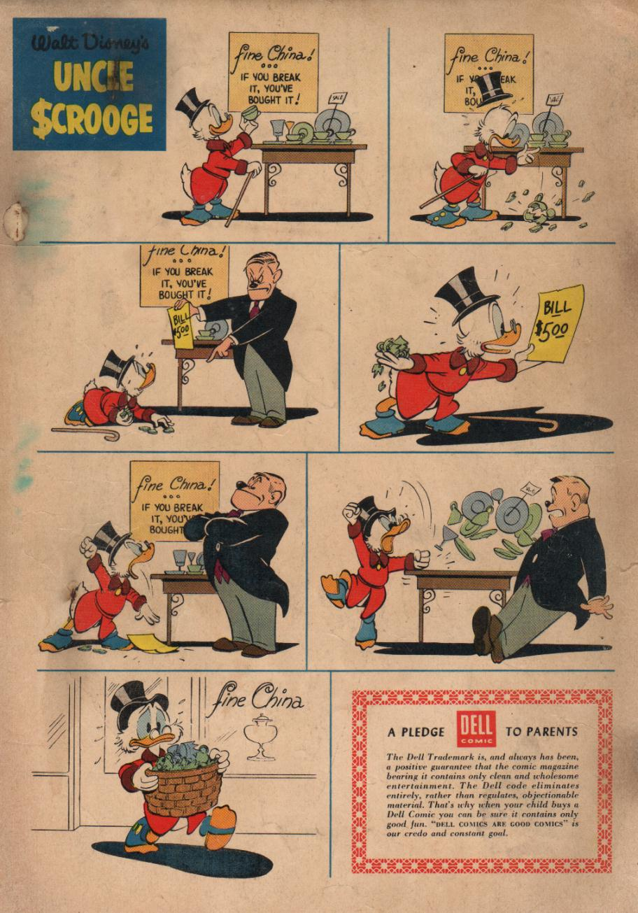 Uncle Scrooge (1953) Issue #17 #17 - English 36