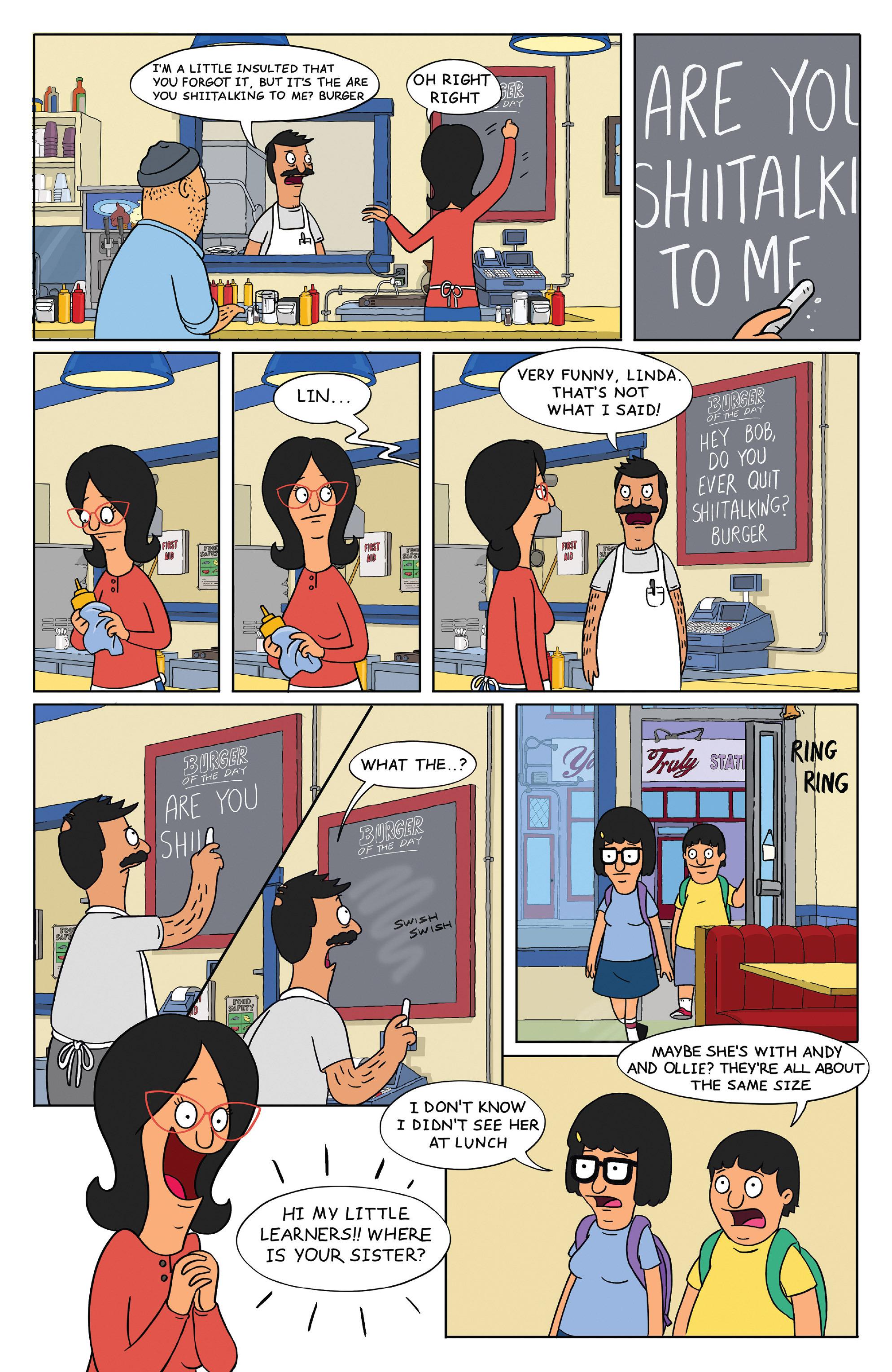 Read online Bob's Burgers (2014) comic -  Issue #4 - 13