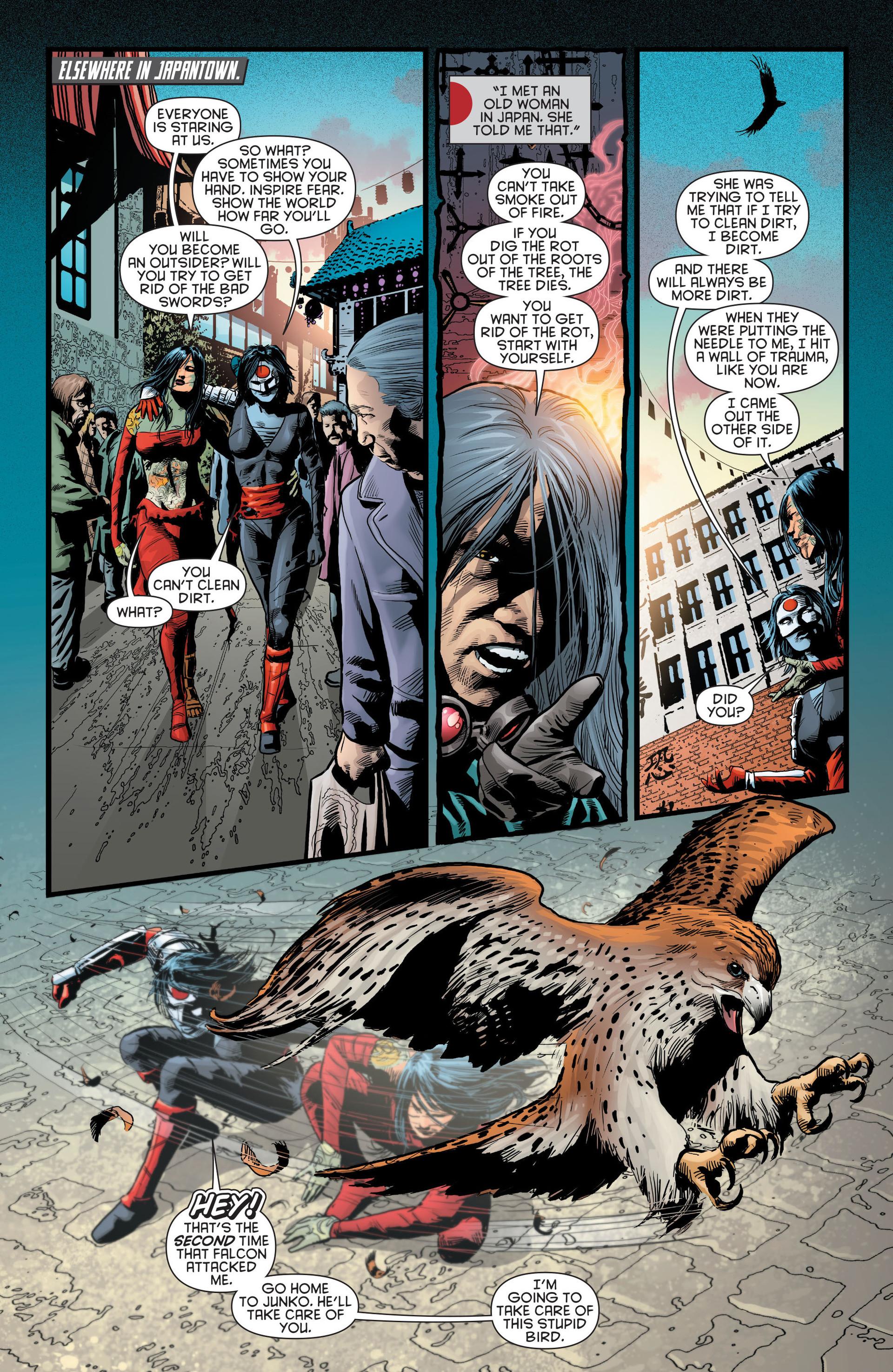 Read online Katana comic -  Issue #8 - 15
