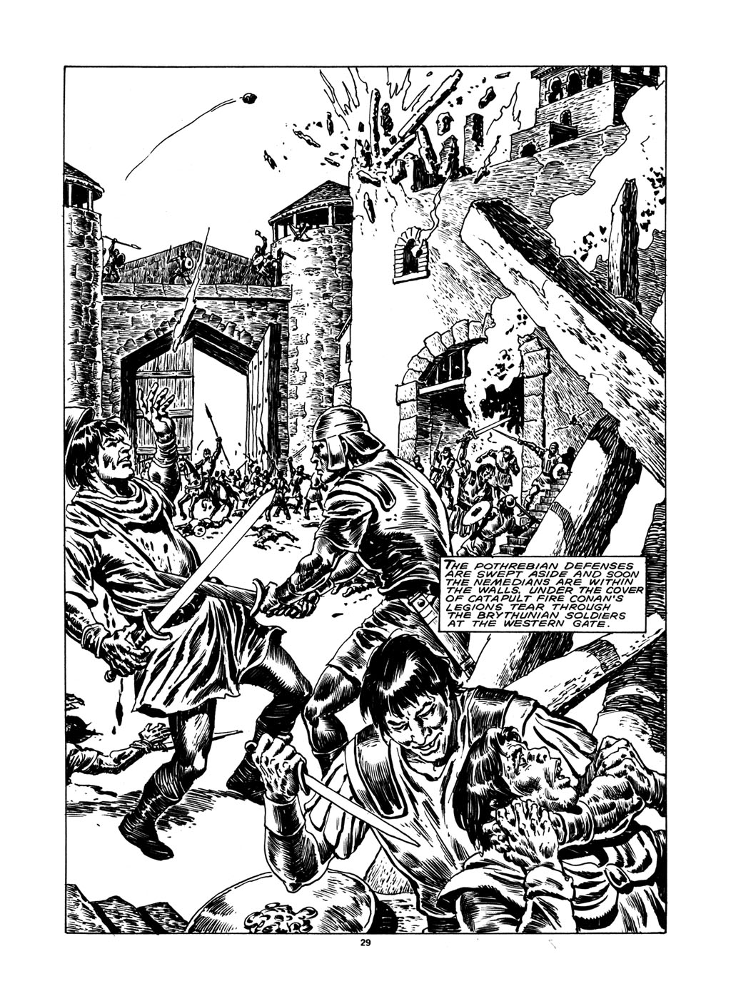 The Savage Sword Of Conan Issue #148 #149 - English 28
