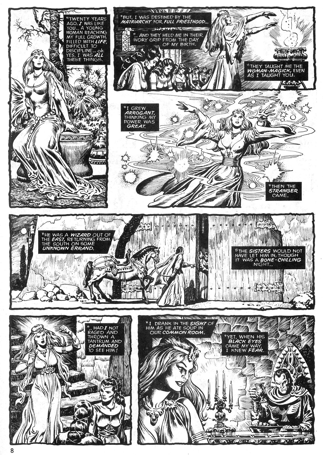 The Savage Sword Of Conan Issue #29 #30 - English 8