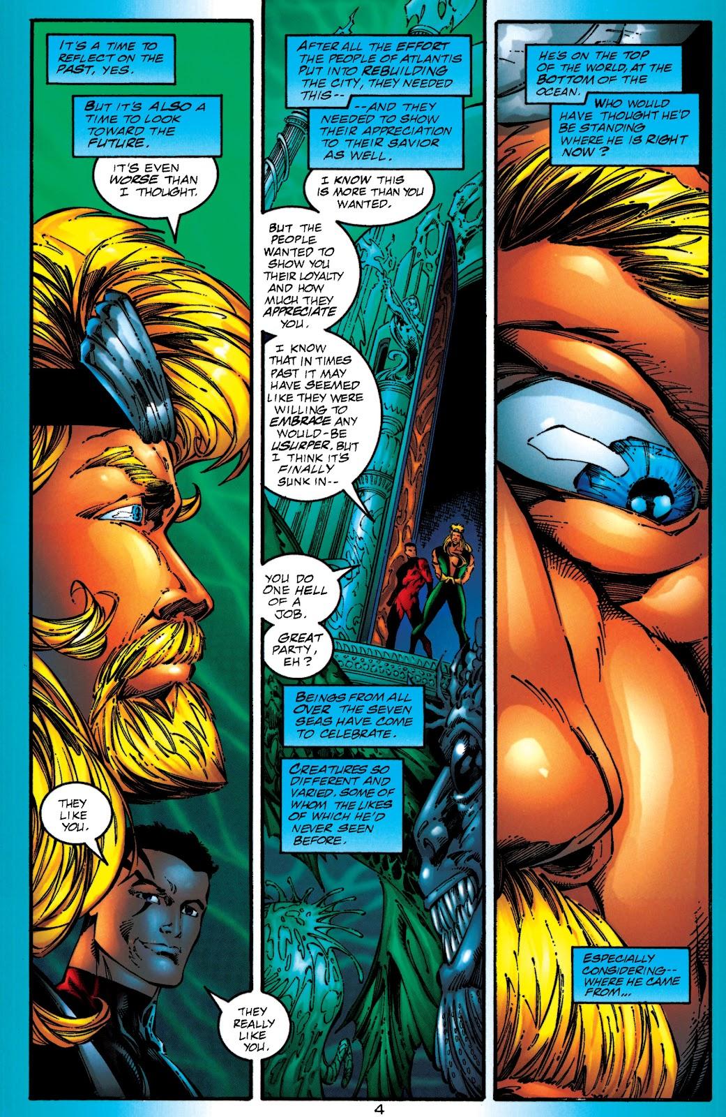 Aquaman (1994) Issue #50 #56 - English 4