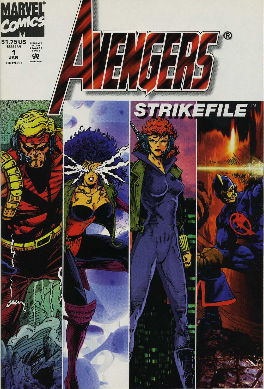 Avengers Strike File Full Page 1