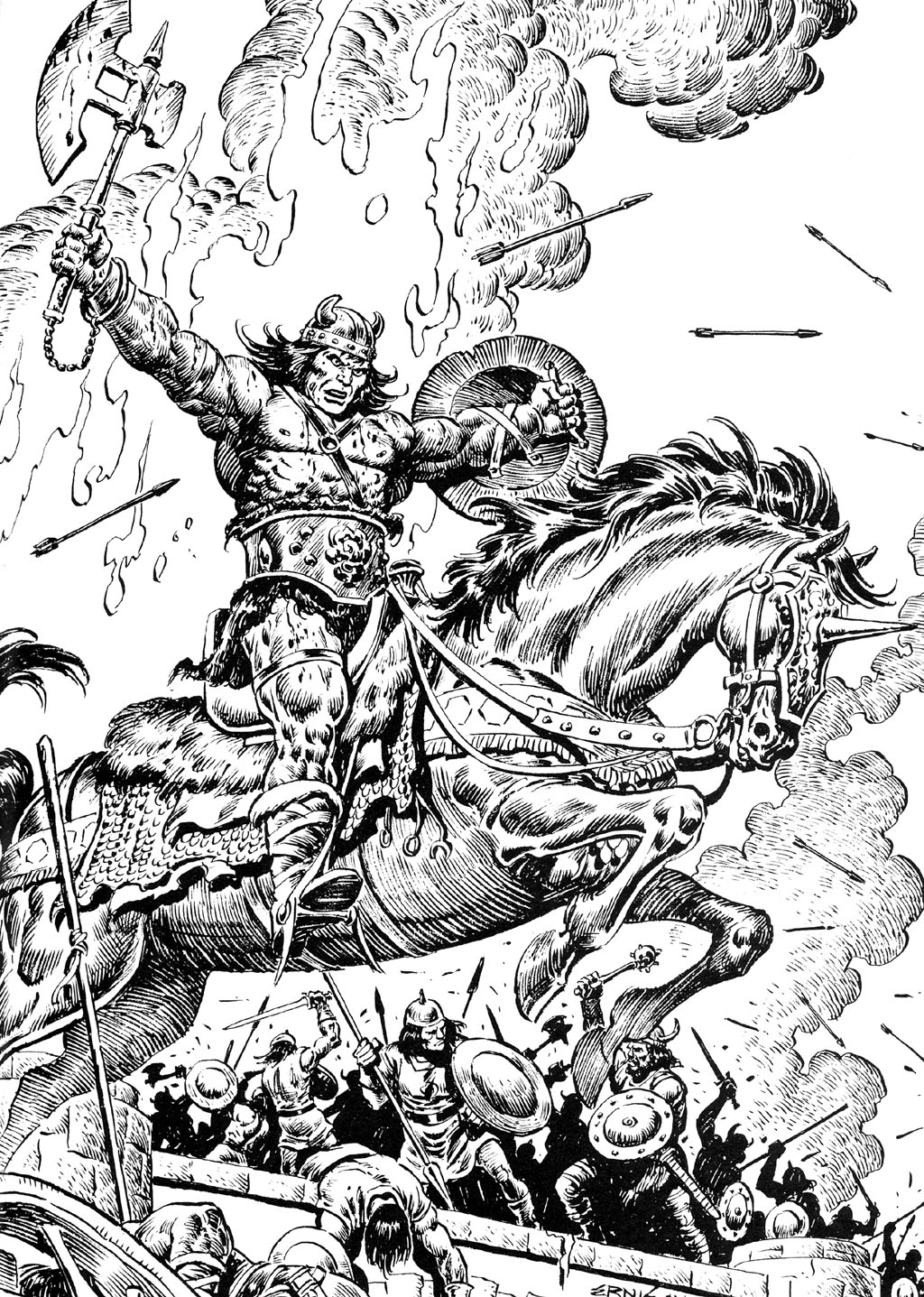 The Savage Sword Of Conan Issue #110 #111 - English 65